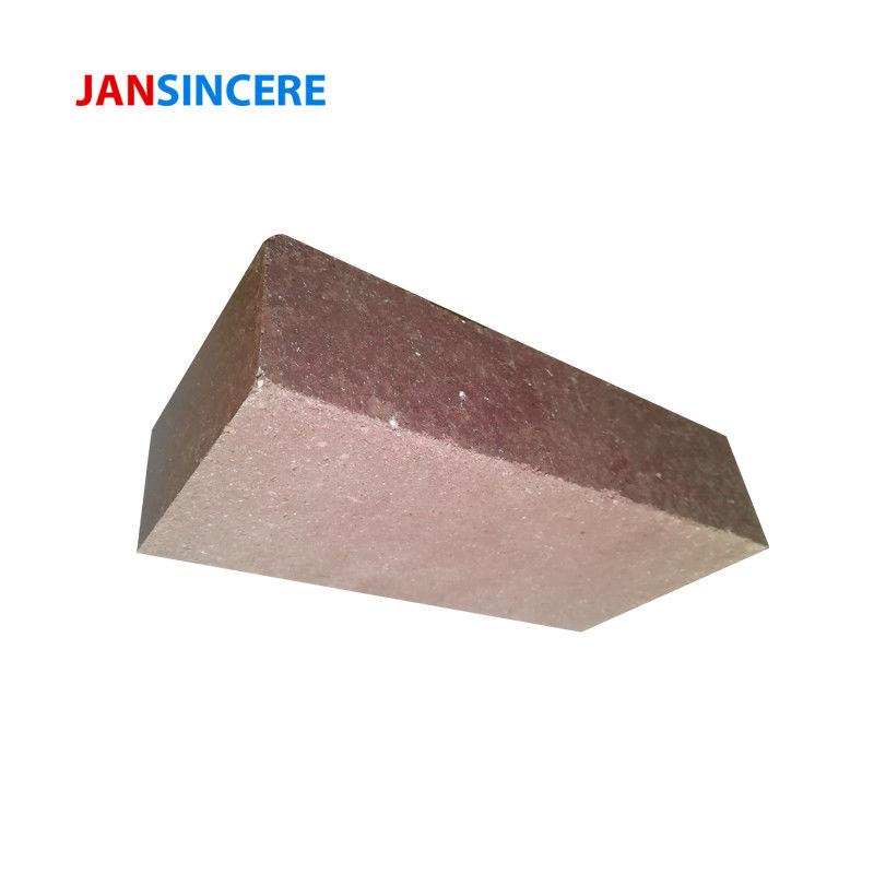 Al2O3 80% Chrome Corundum Brick For Cement Kiln Good Abrasion Resistance