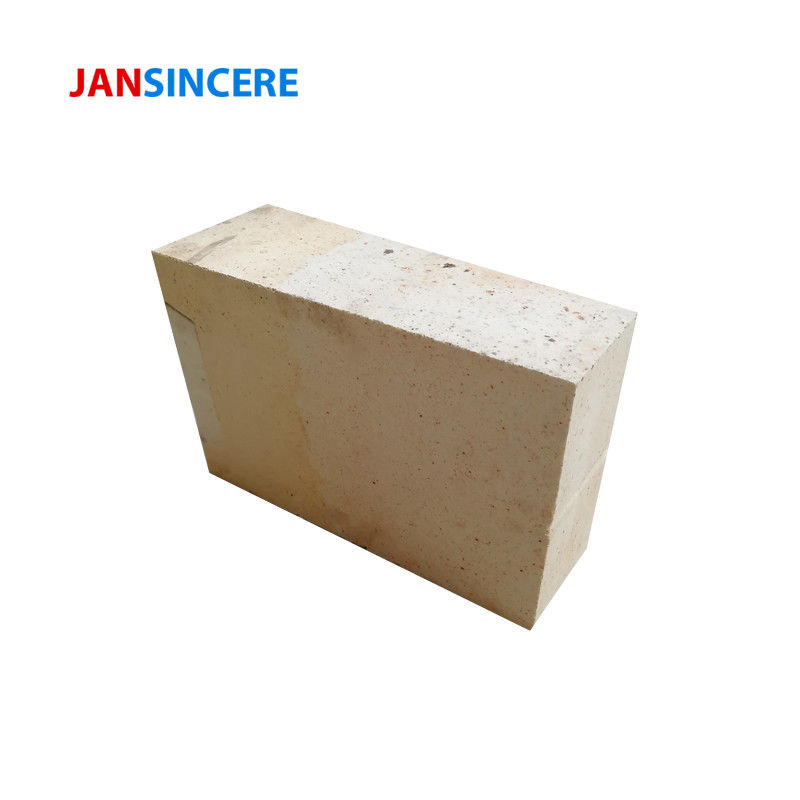 SiO2 18% Corundum Fire Clay Bricks , High Strength Fire Resistant Bricks