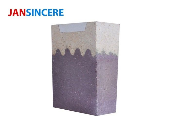 Fused High Alumina Fire Bricks , Abrasion Resistance Super Duty Firebrick