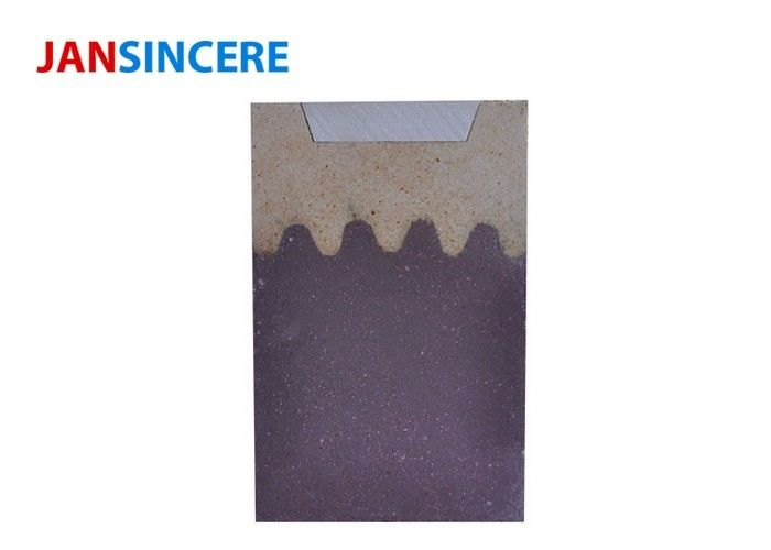 High Temperature Fire Brick For Wood Burners , Heat Proof Bricks Wear Resistance