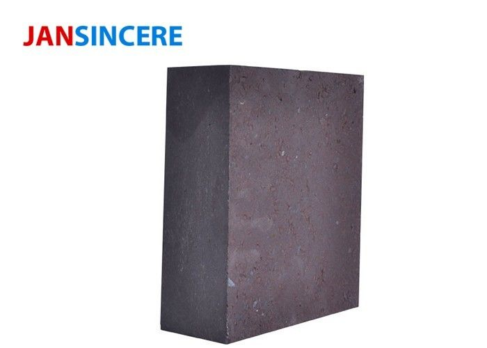 Electric Furnace Fused Magnesite Refractory Bricks Good Corrosion Resistance