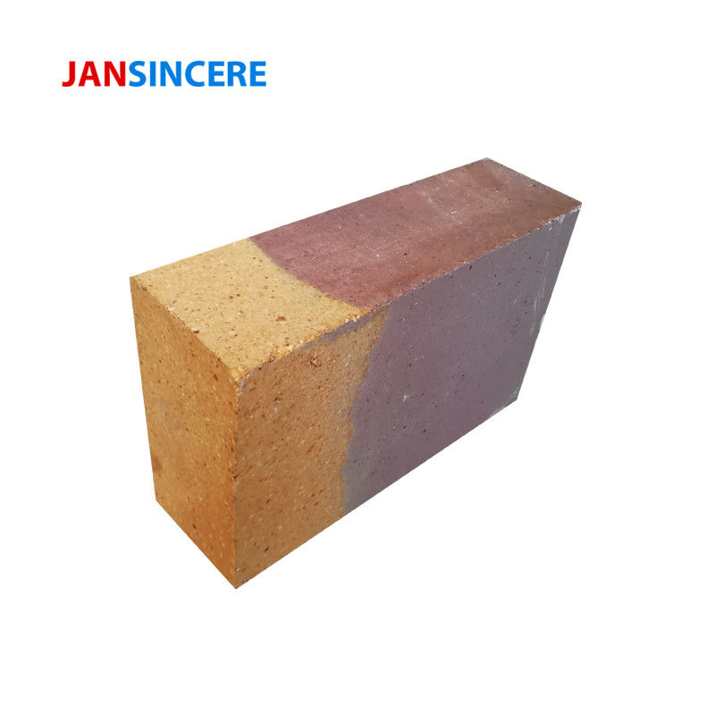 Insulating Zirconium High Temp Fire Brick , Compounding Refractory Firebrick