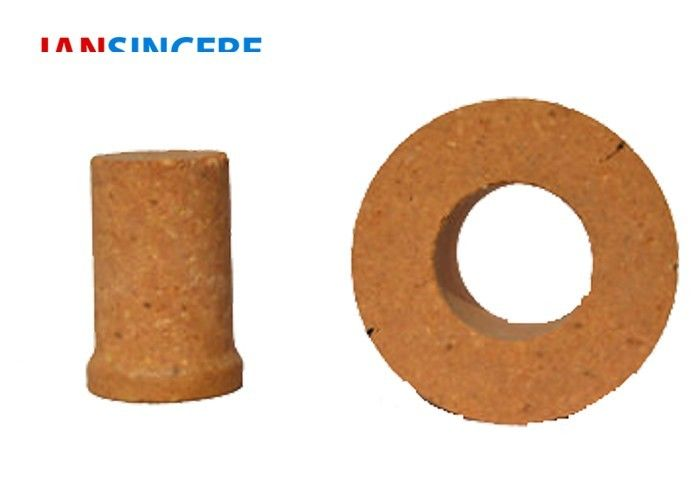 High Temperature Castable Fire Brick , Aluminum Silicate Refractory Brick