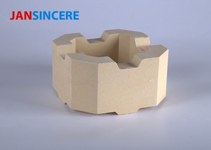 Thermal Shock Resistance Zirconia Bricks , Refractory Fire Brick For Kiln Furnace
