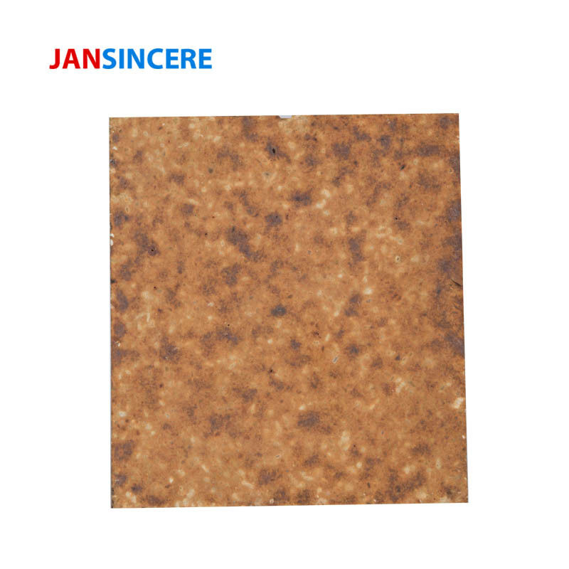 Heat Resistant Chemical Silica Mullite Refractory Bricks Thermal Shock Resistance