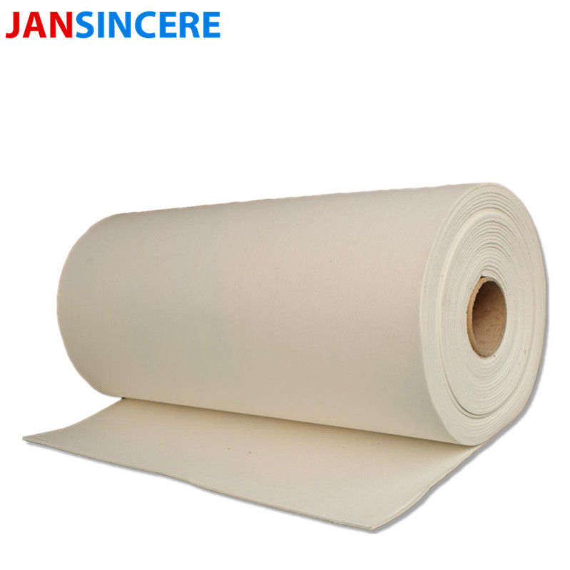 Low Thermal Conductivity Non Flammable Paper / Bio - Soluble Ceramic Fiber Paper